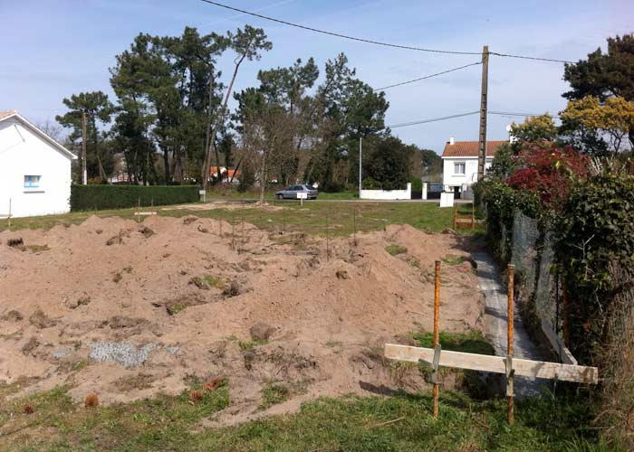Les fondations la maison sort de terre for Choisir et realiser les fondations