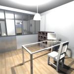 Vue 3D intérieur en vue virtuelle 5