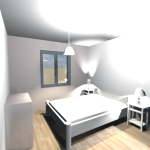 Vue 3D intérieur en vue virtuelle 6