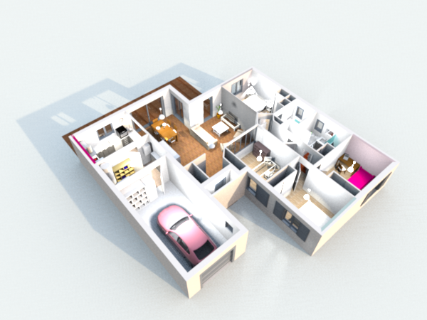 construction de la maison en 3d avec sweet home 3d - Simulation Construction Maison 3d Gratuit