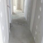Chape liquide dans le couloir