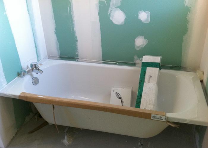 Plomberie g n rale de la maison - Monter une baignoire ...