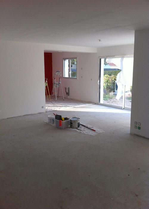 Chambre Bebe Gris Perle : Design  Peinture Cuisine Rouge Basque  21, Peinture Salle De Bain