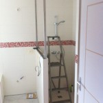 Séparation vitrée dans la salle de bain 1
