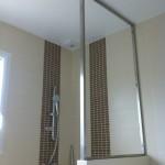 Séparation vitrée dans la salle de bain 2