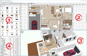 Liste des tutos sur l 39 utilisation de sweet home 3d - Creer meuble sweet home 3d ...
