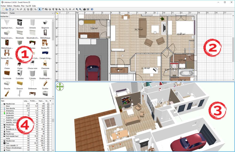 Présentation Générale De Sweet Home 3D
