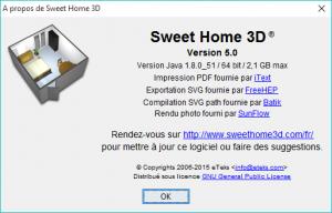 Spashscreen Sweet Home 3D