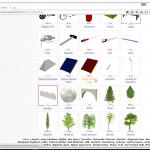 Page de téléchargement des objets de toit