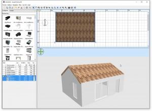 Tutoriel pour faire le toit dans Sweet Home 3D
