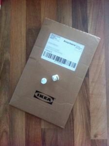 Pièces détachées livrées par IKEA