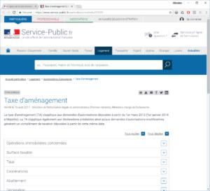 Site service-public.fr