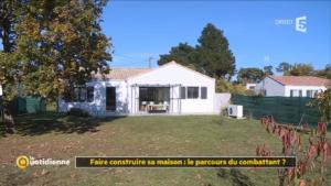 Notre maison dans le reportage La Quotidienne sur France 5