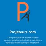 Logo projeteurs.com