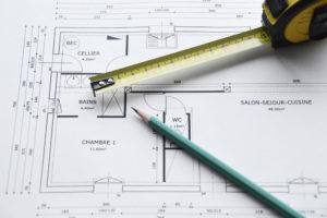 Plan de maison par un architecte