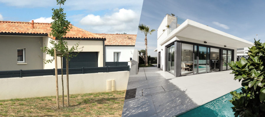 Choix entre maison traditionnelle ou contemporaine