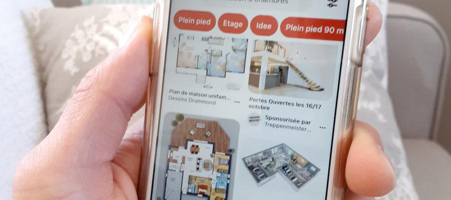 Recherche de plans de maisons sur Pinterest