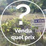 Solutions pour trouver le prix des terrains vendus
