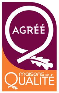 Logo agrément « Maisons de Qualité »