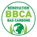 Logo label BBCA (Bâtiment Bas Carbone)