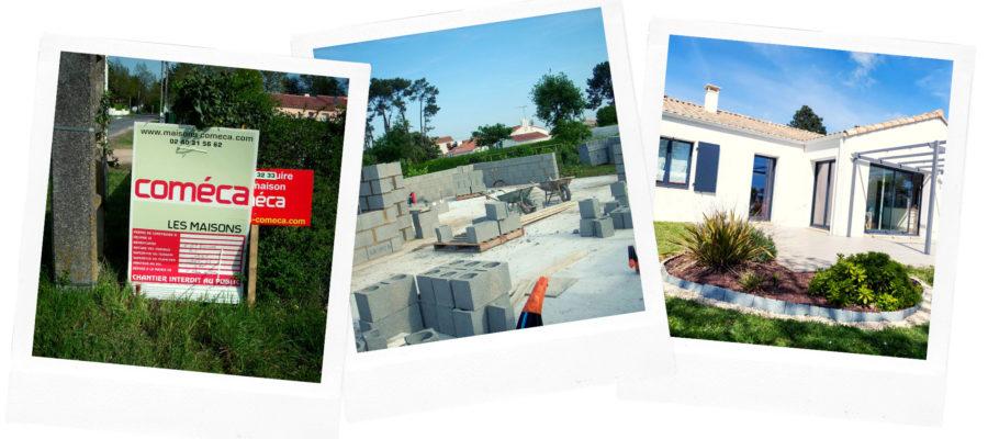 Photos de la construction de ma maison