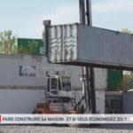 Construction de maisons en containers
