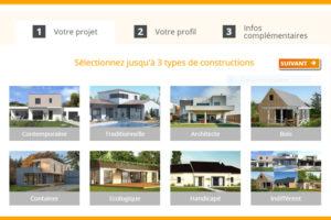 Comparateur de constructeurs de maison