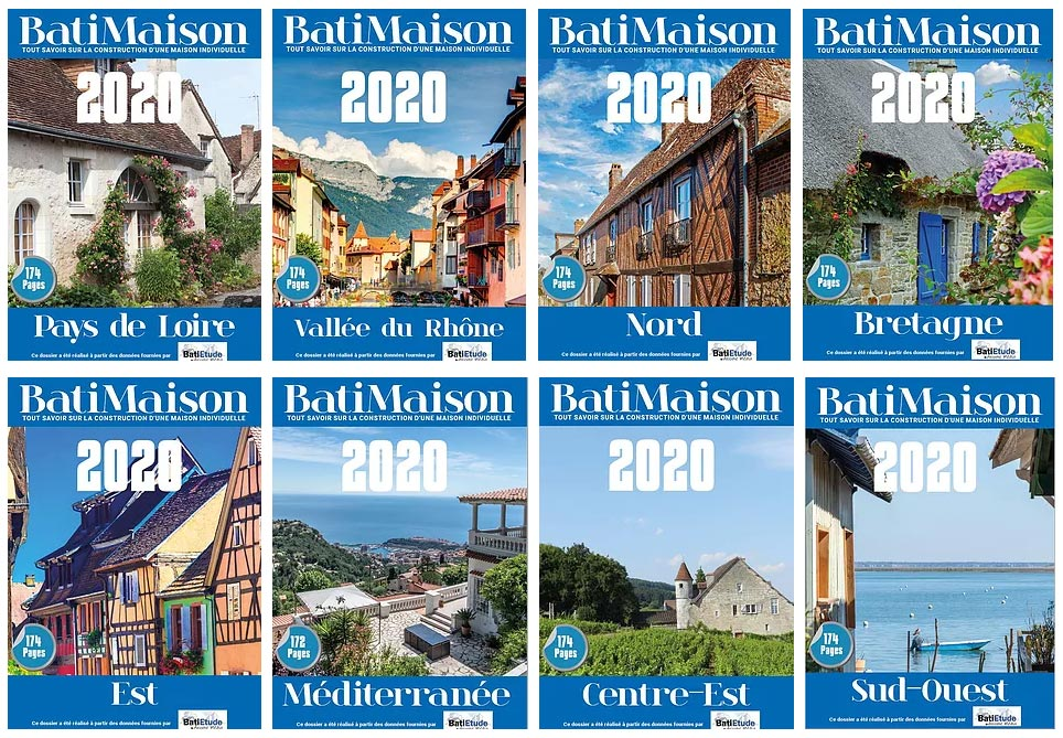 Guides BatiMaison par région